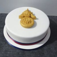 Regimental Badge Cake