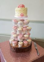 Vicky & Chris cupcake tower