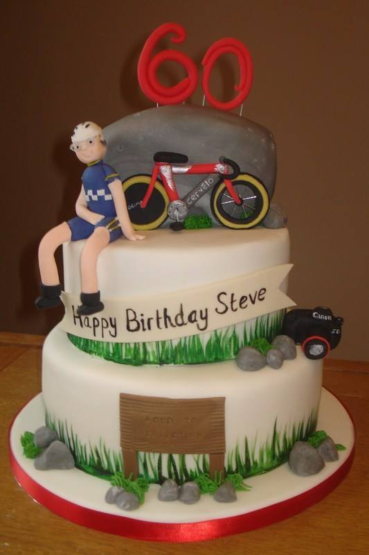 3 tier cycling cake