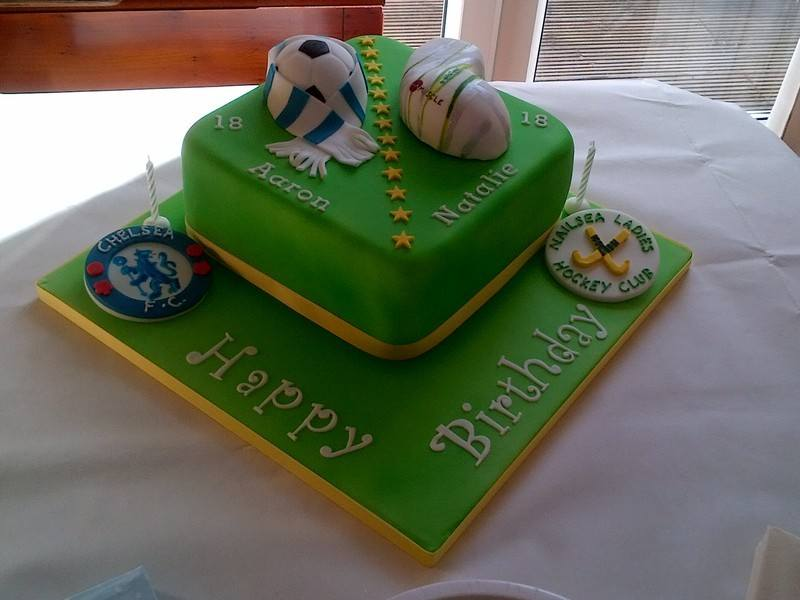 Joint 18th cake