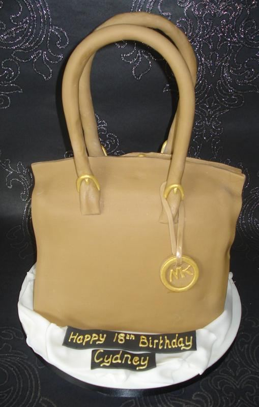 Michael Kors bag cake