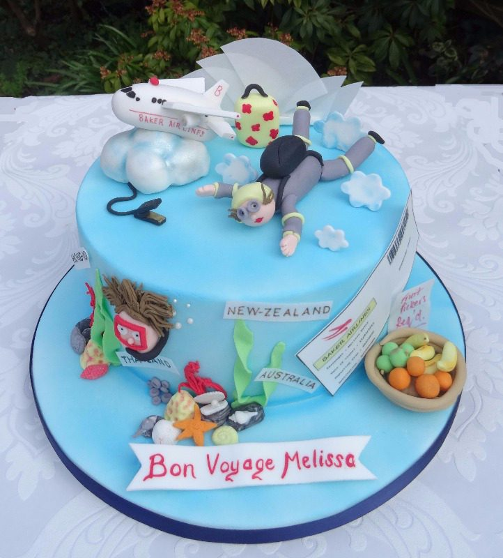 Cake Decorating Ideas Bon Voyage : What they say