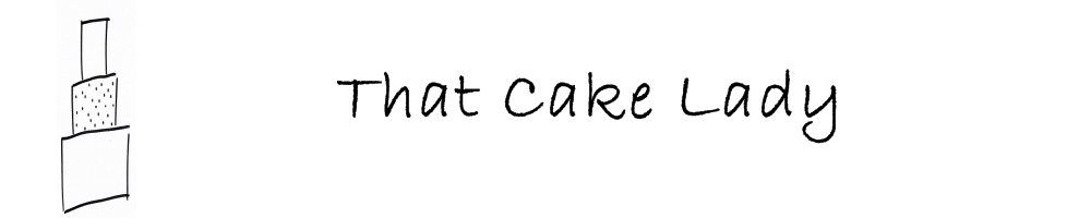 That Cake Lady, site logo.