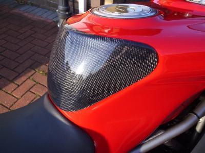 Ducati Super Sport Carbon Tank Protector