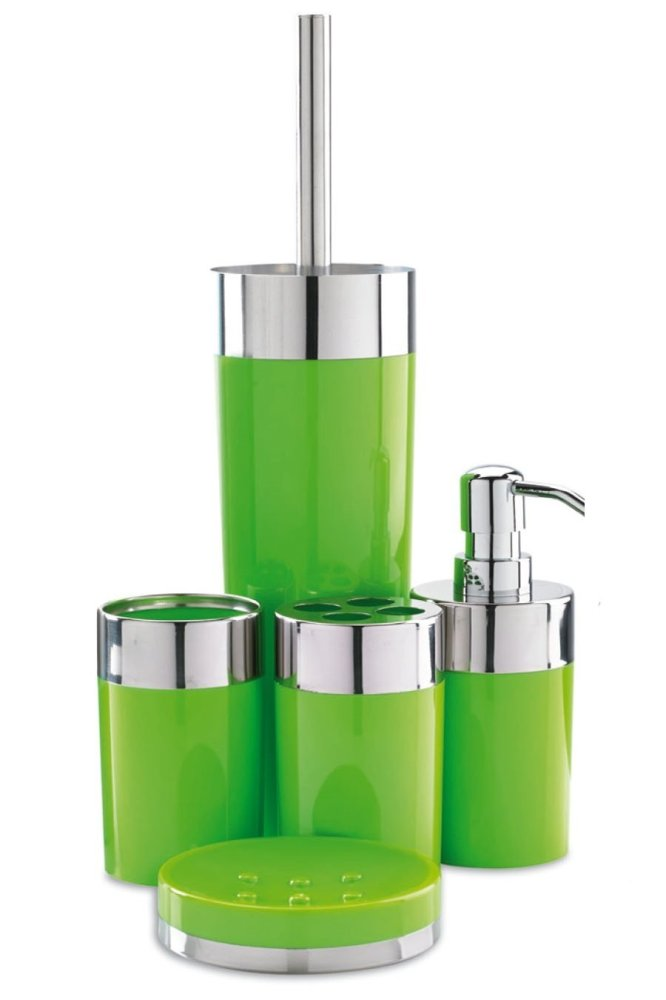 5-Piece Bathroom Set (Lime)