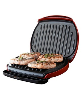 4 Portion Low Fat Grill- Red