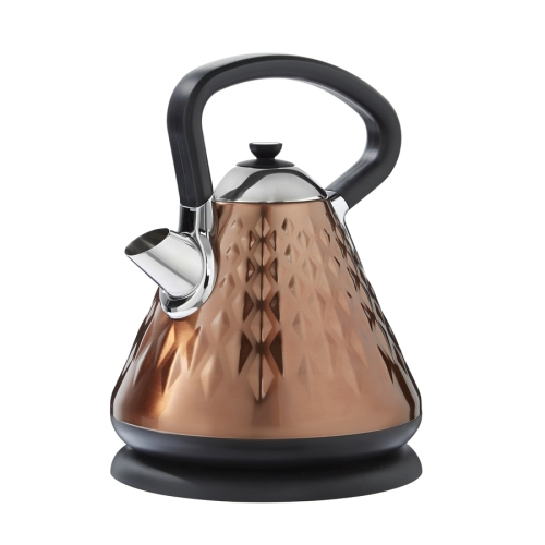 EGL Copper Diamond Pyramid Kettle