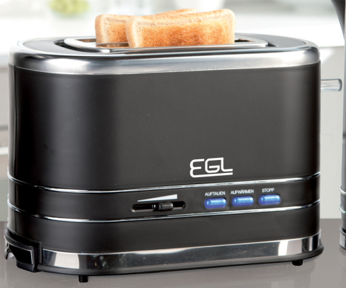 EGL 2-Slice Toaster Black …