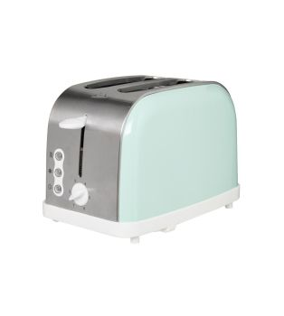 EGL Mint Green 2 Slice Wide Slot Toaster