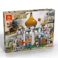 Empire's Castle Brick/Block Set, Compatible Building Bricks 380 Pcs