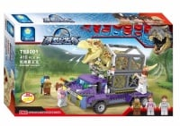 Jurassic Legend Dino Capture Building Brick/Block Set, Compatible Building Bricks 410 Pcs