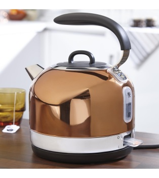 Copper Electric Dome Kettle