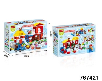 Happy Farmland/Farm Large Block Set.