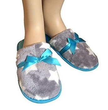 Ladies Stars Style Slippers, Various Sizes Available