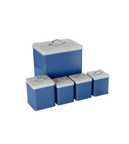 5-Piece Storage Set Blue
