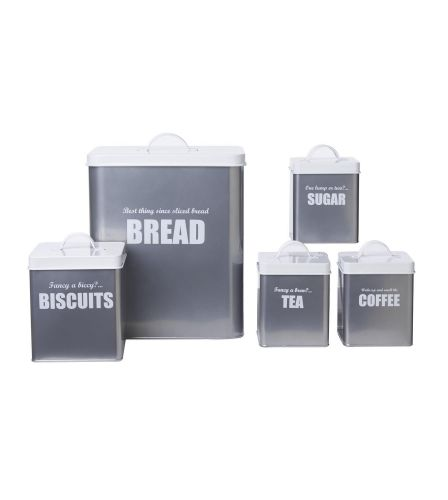 5-Piece Silver Storage Set