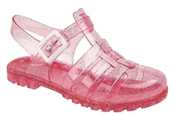 Girls Glitter Jellies Sandles