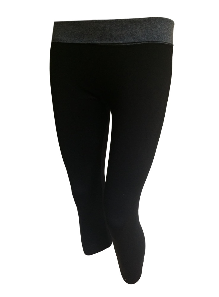 Ladies Yoga Sport Crop Leggings