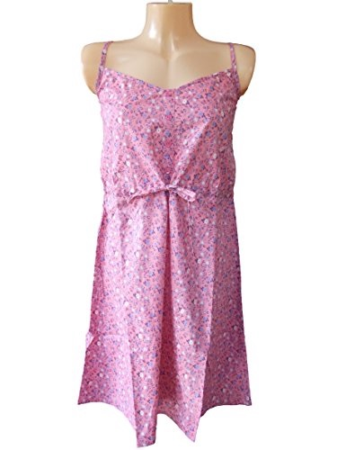 Fluid Pink Floral Sundress