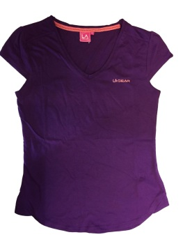 LA Gear V Neck Top