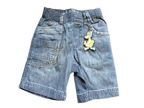 Boys Knee Length Denim Shorts