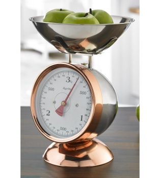 Mechanical Copper Coated Kitchen Scales