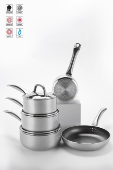 5-Piece Aluminium Cookware Set