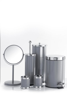 6-Piece Bathroom Accessories Set Storm Grey