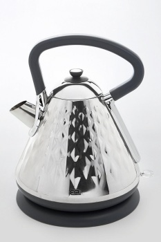 Stainless Steel Pyramid Diamond Kettle