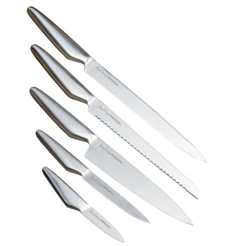 JEAN PATRIQUE 5 PIECE STAINLESS STEEL KNIFE SET