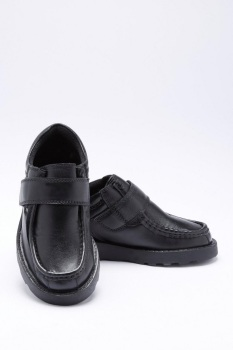 Boys Leather One Strap Shoes C13