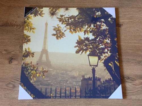 vintage paris canvas