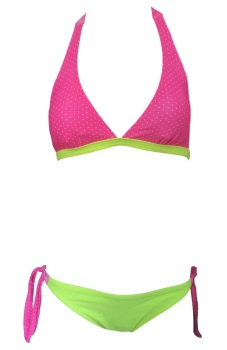 Girls Pink & Yellow Bikini/Swimwear. Ages 5-14 Years