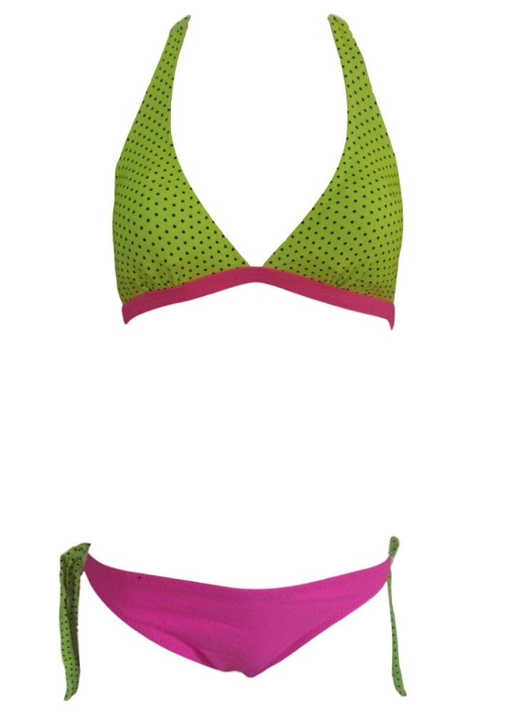 Girls Yellow & Pink Bikini/Swimwear. Ages 5-14 Years