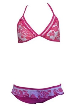 Girls Magenta Bikini/Swimwear. Ages 5-16 Years