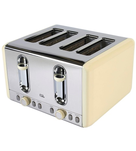 4 slice stainless steel Cream Toaster