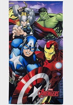 Avengers Design Fast Drying Towel