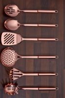 6-Piece Copper Plated Kitchen Tool Set
