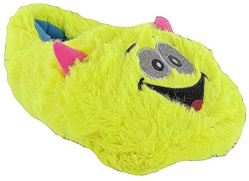 Monster Ladies Fun Fluffy Slippers