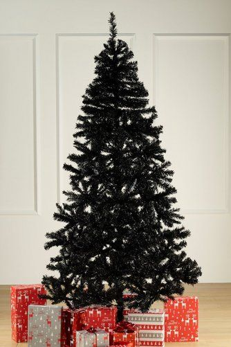 1.8m (6ft) Black Deluxe Tree