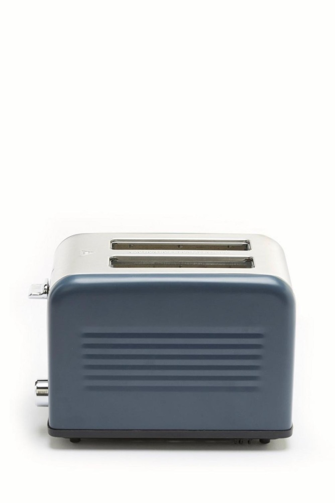 Graphite Ribbed 2-Slice Toaster …
