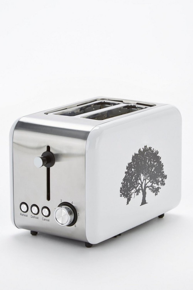 Tree Print 2-Slice Toaster
