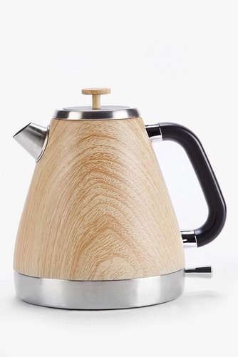 Wood-Effect Jug Kettle