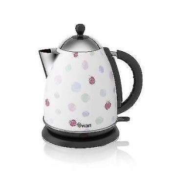 Polka Dot 1.7 kw Jug Kettle