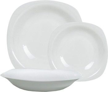 18 Piece Dinnerware Set, Service for 6