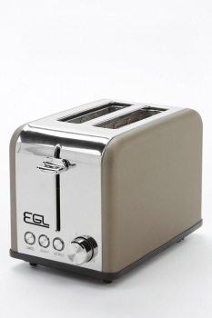 Matt Bronze 2-Slice Toaster