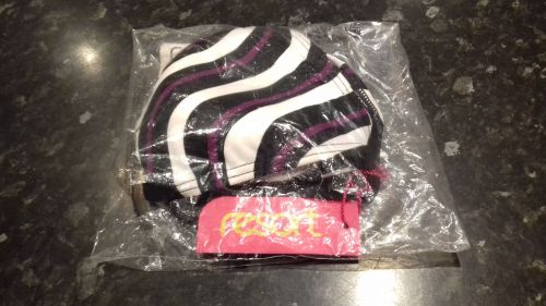 Resort Triangle Bikini Top Multi Stripe size 10