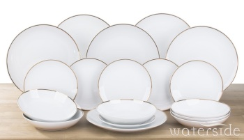 18-Piece GOLDLINE Dinner Set