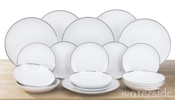 18-Piece PLATINUMLINE Dinner Set