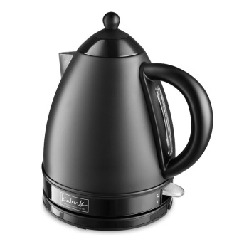 Black 1.7 L Stainless Steel Electric Kettle